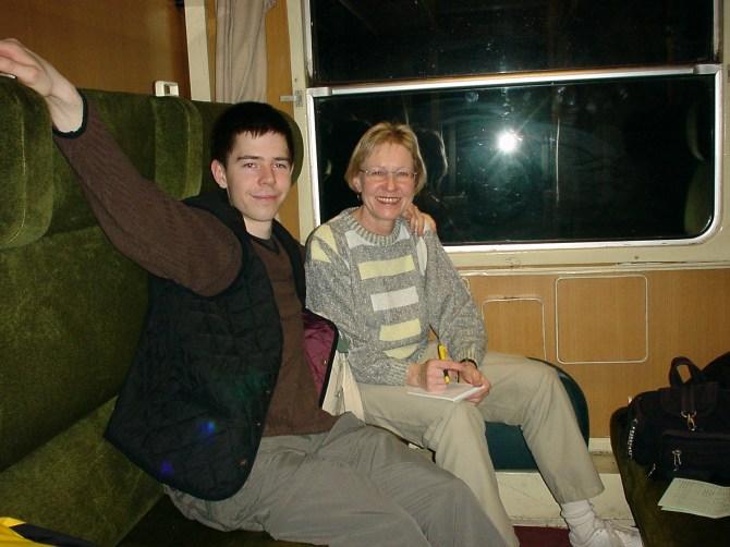 001_Marc und Rita im Zug