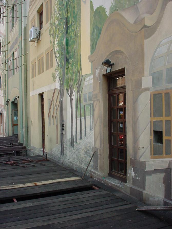 043_Bemalte Fassade in der Skadarska