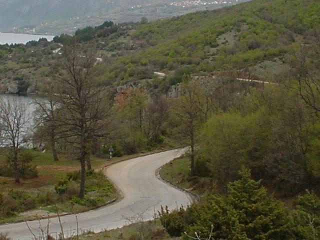 103_Strasse südlich Ohrid