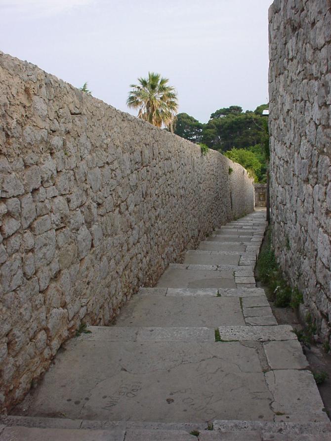 016_Treppe in Dubrovnik