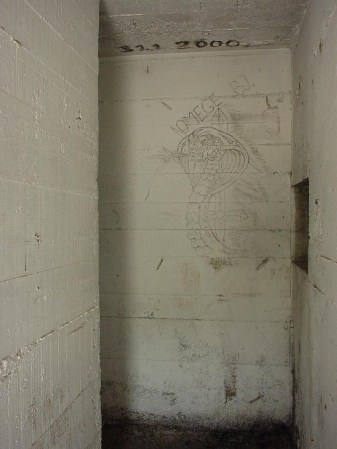 047_Zeichnung in Bunker