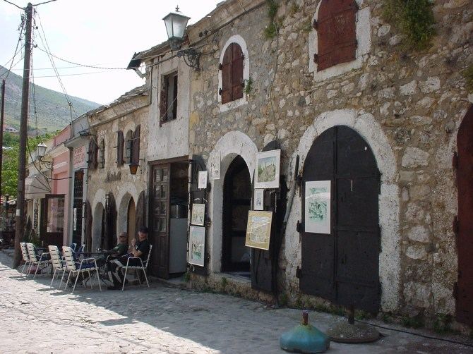 070_Shop in Altstadt von Mostar BiH