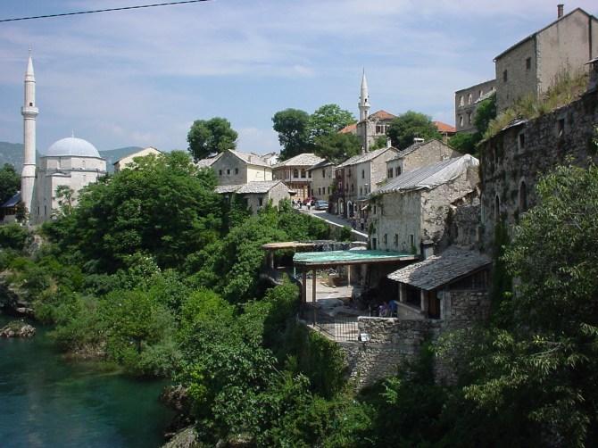 076_Neretva in Mostar 2 BiH