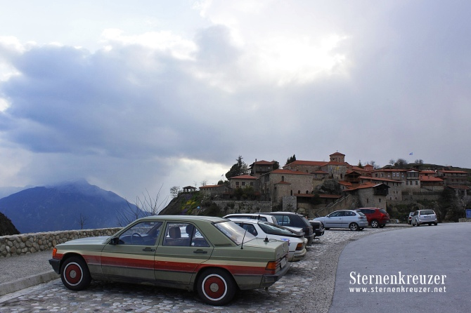 Mercedes-bei-Meteora-Kloster