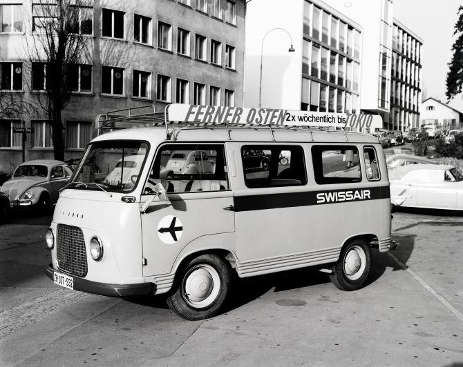 Minibus der Swissair (FK 1000)