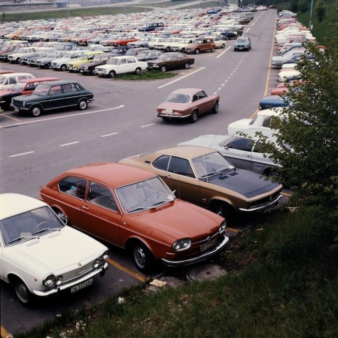Swissair-Personalparkplatz Taubenried