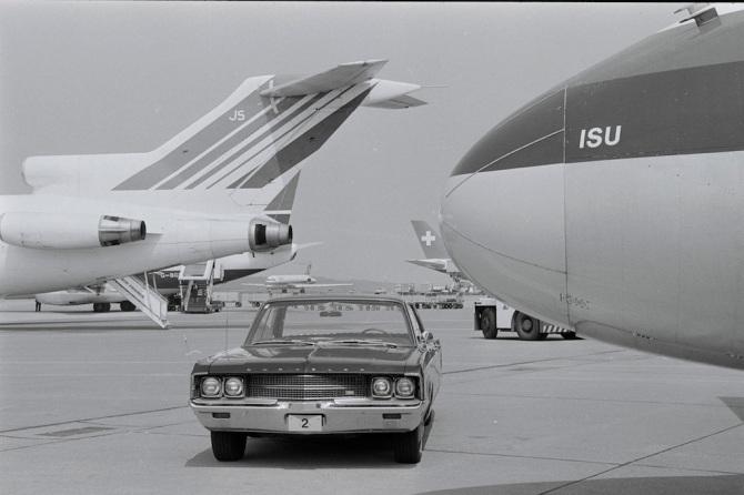 """Bug der McDonnell Douglas DC-9-51, HB-ISU """"Bachenbülach"""" in Zürich-Kloten"""